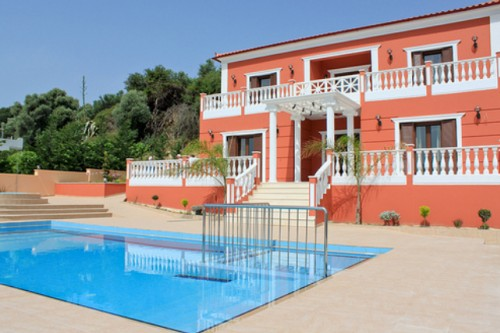 Royal Villa In West Chania, Crete With Private Pool, Jacuzzi And Stunning Views