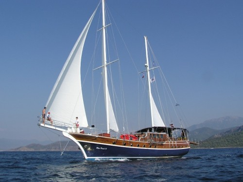 01 - Blue  Voyage  & Private Boat Charter @ Turkey