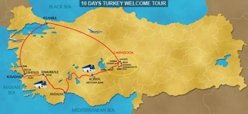 10 Day Hello Turkey Tour