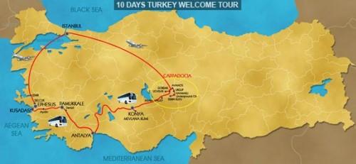 10 Day Hello Turkey Tour