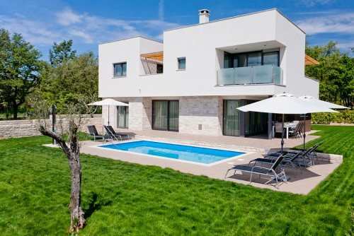 Modern Villa With Pool In Istria 7376