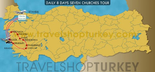 8 Days Seven Churches Tour