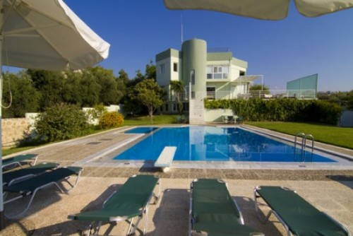 463 Spacious And Luxurious Villa With Pool Chania