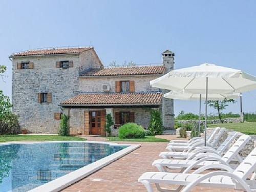 Attractive Istrian Stancia With Pool  6937