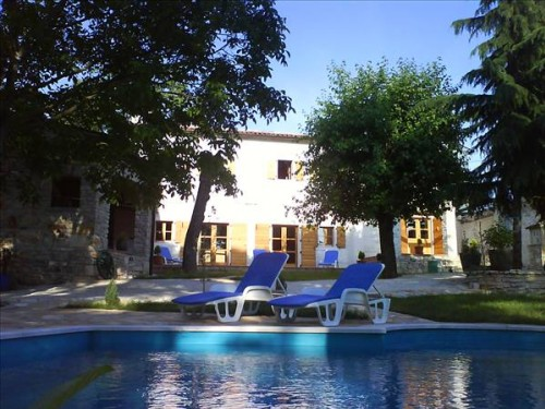 Attractive Istrian Villa With Pool  6179