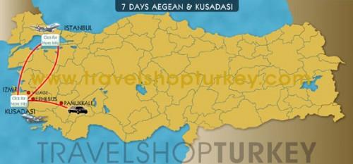 7 Days Aegean & Kusadasi Tour