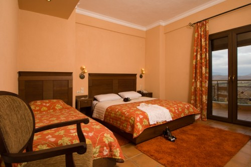 Triple Room With Forest And Mountain View | Dellas Boutique Hotel